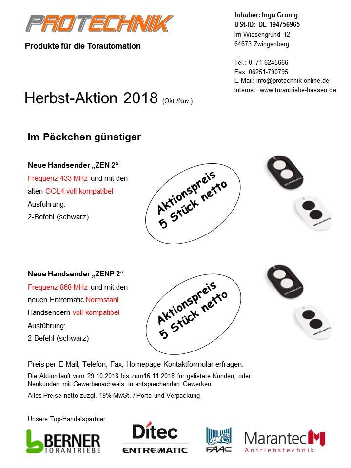 protechnik 27.10.2018 mailing homepage
